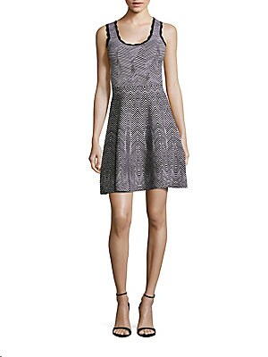 Scoopneck Pullover A-Line Dress
