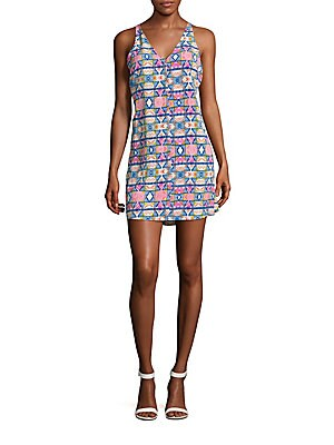 Malibu Printed Racerback Dress
