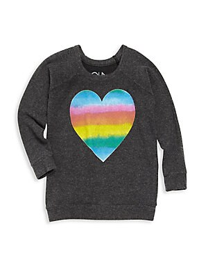 Toddler's, Little Girl's & Girl's Love Knit T-Shirt