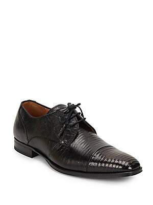 Valdes Leather Derby Shoes