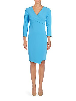 Bentley V-Neck Wrap Dress