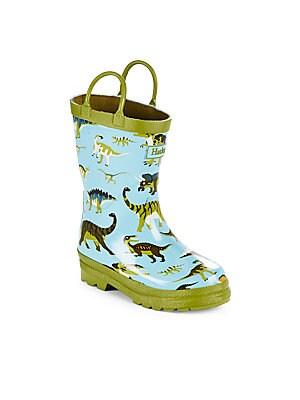 Boy's Wild Dinos Rain Boots