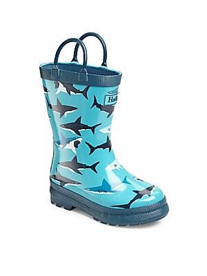 Boy's Shark Rainboots