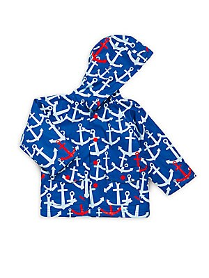 Baby's Scattered Anchor Raincoat