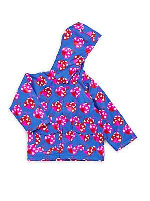 Baby's Ladybug Garden Raincoat