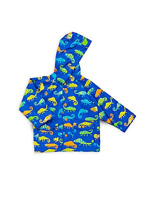 Baby's Crazy Chameleon Raincoat