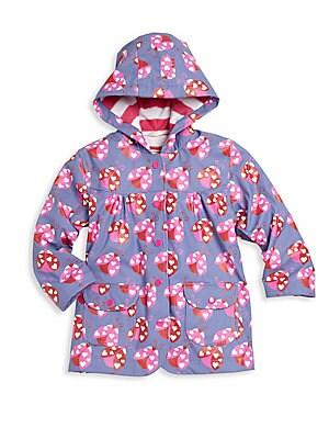 Little Girl's & Girl's Ladybug Raincoat