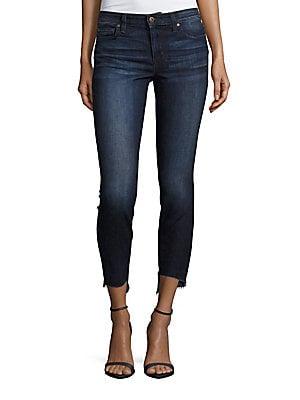 The Icon Blondie Step-Hem Skinny-Fit Jeans
