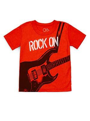Little Boy's & Boy's Rock On Graphic Shirt