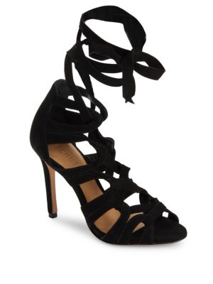 Petrina Lace-Up Leather Sandals
