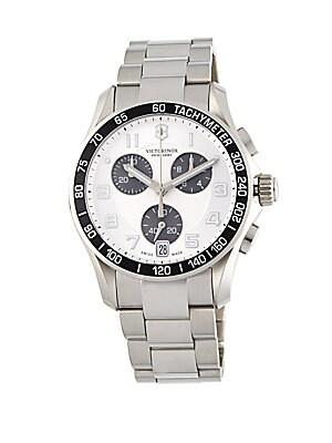 Round Tachymeter Bezel Chronograph Watch