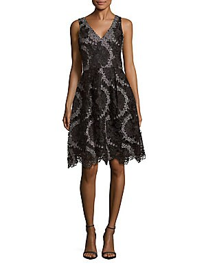 Rochie midi KAY UNGER Lace