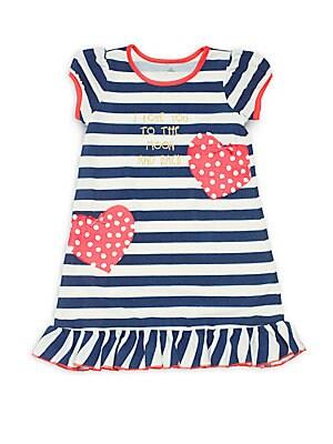Little Girl's & Girl's Striped Dress