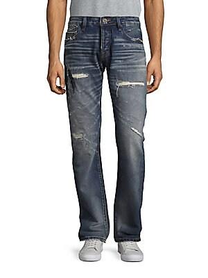Rebel Straight Leg Jeans