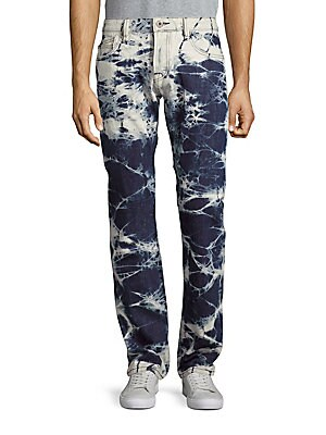 Rebel Straight-Leg Jeans
