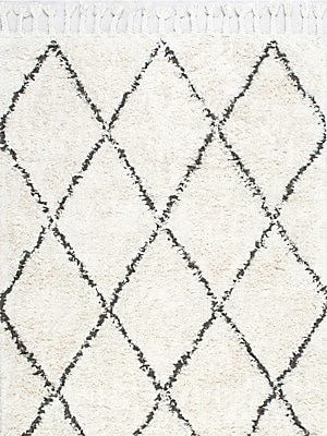 Fez Hand-Knotted Shag Area Rug