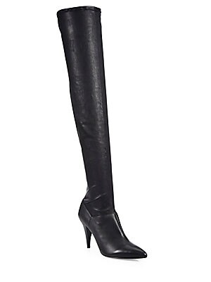 Casey Leather Over-The-Knee Boots