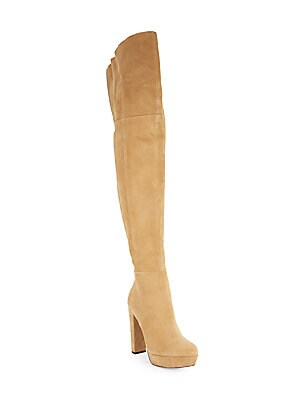Halle Over-The-Knee Suede Boots