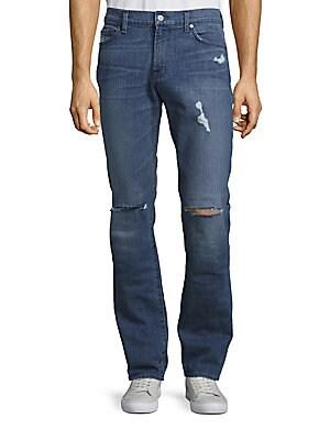 Slimmy California Estate Distressed Jeans