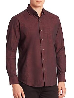 Weylin Textured Button-Down Shirt