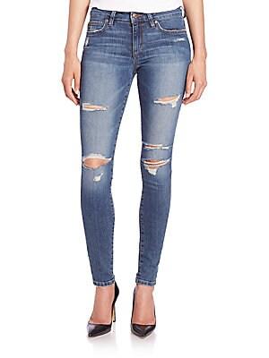 Seneka Distressed Icon Skinny Jeans