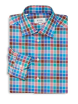 Contemporary-Fit Cotton Shirt