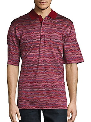 Short-Sleeve Cotton Knit Polo