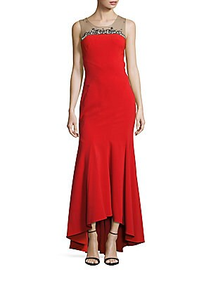 Roundneck High-Low Gown