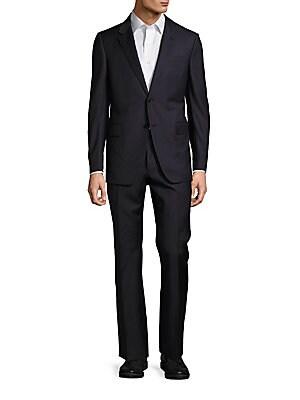 Fleece Wool Solid Suit