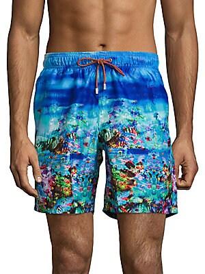 Ocean Print Swimwear