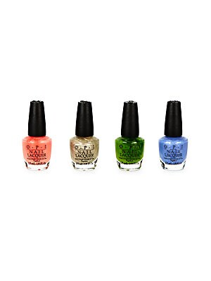 Four-Piece Shimmering Nail Lacquer Set