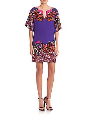 Printed Carnival Dress