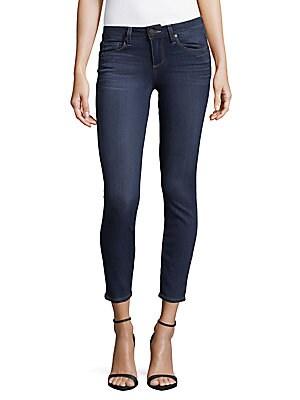 Verdugo Cropped Five-Pocket Jeans