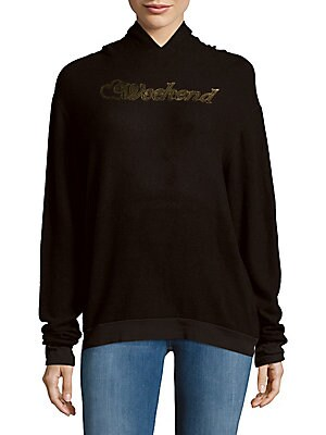 Gold Foil Pullover Hoodie