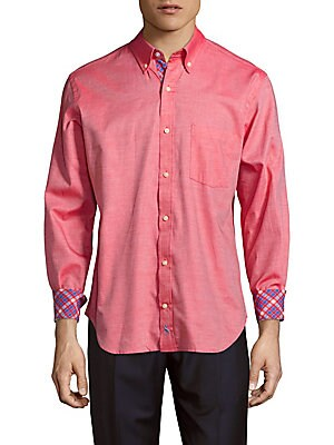 Stewart Textured Cotton Shirt