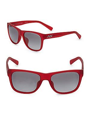 56MM Wayfarer Sunglasses