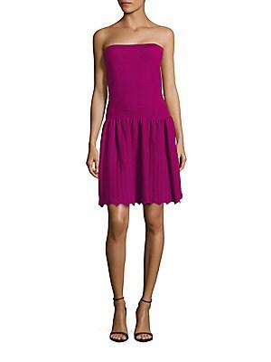 Straightacross Neckline Pullover Dress