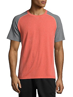 Crewneck Raglan-Sleeve T-Shirt