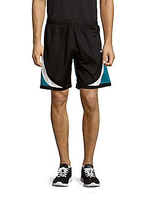 Colorblock Pull-On Shorts