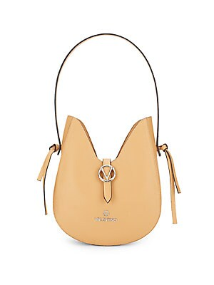 valentino by mario valentino female anny leather hobo bag