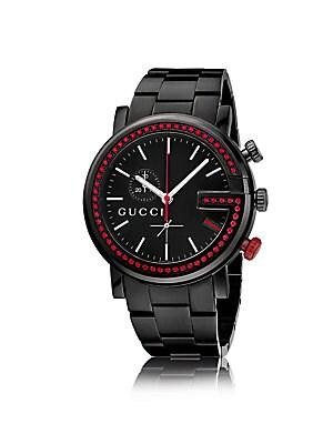 gucci male 251705 topaz g chronograph watch