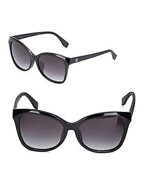 fendi female italian ombre sunglasses 76mm