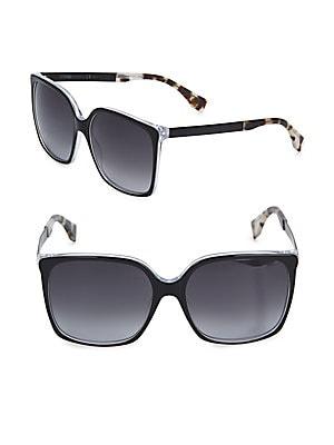 fendi female rectangular sunglasses 50mm