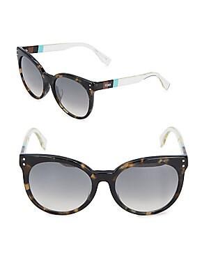 fendi female tortoise shell sunglasses 56mm