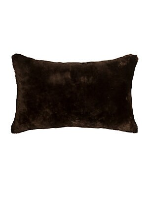 Nelson Rectangular Sheepskin Decorative Pillow