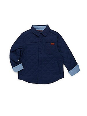 Little Boy's Cotton Quilted Jacket