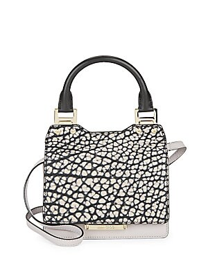 Amie Embossed Leather Handbag