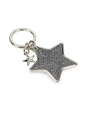 Star-Shaped Keychain Ring