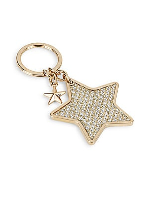 Star-Shaped Keychain Ring