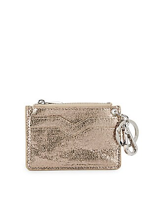 Textured Leather Coin Purse